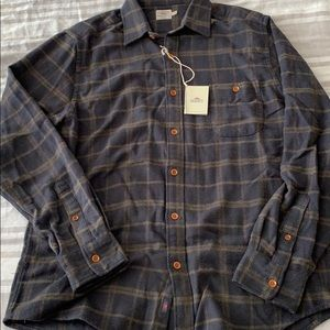 Faherty men's Seaview flannel shirt large, NWT!